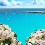 Favignana, Cala Rossa, Aegadian Islands, Sicily, Photo by Andrea Amedeo (IG: @eclecticstyle)