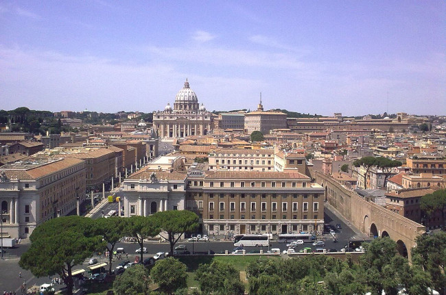 Vatican City, from Castel Sant'Angelo